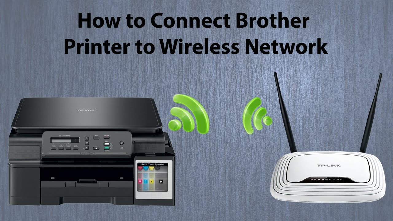 brother printer to wifi